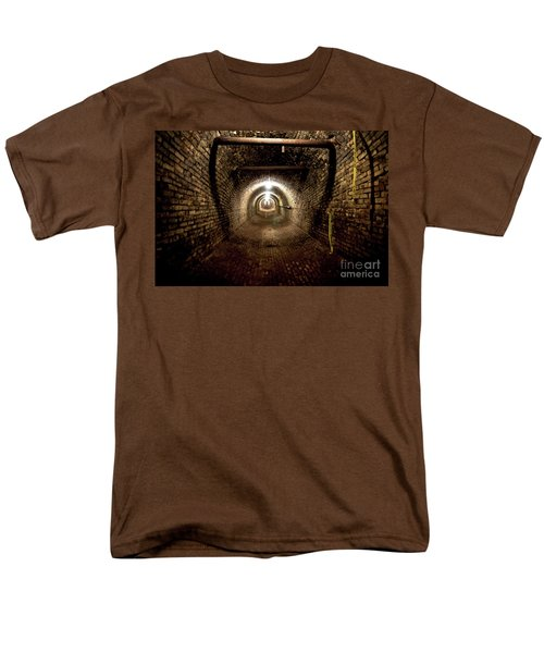 The Tunnel Men's T-Shirt  (Regular Fit) by Randall Cogle