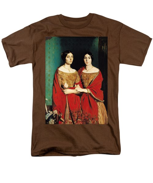 The Two Sisters Men's T-Shirt  (Regular Fit) by Theodore Chasseriau