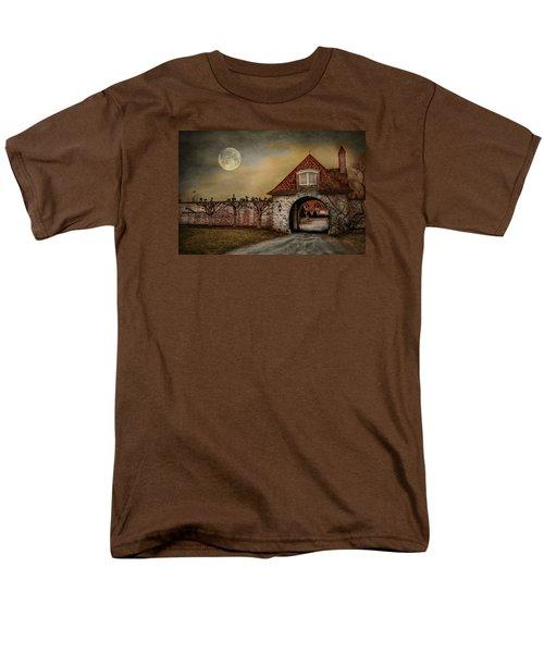 Men's T-Shirt  (Regular Fit) featuring the photograph The Watcher by Robin-Lee Vieira