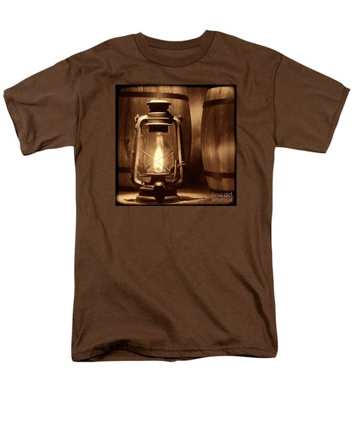 The Whiskey Reserve Men's T-Shirt  (Regular Fit) by American West Legend By Olivier Le Queinec