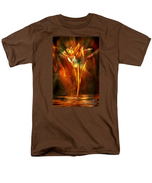 Men's T-Shirt  (Regular Fit) featuring the digital art The Wild And Beautiful by Johnny Hildingsson