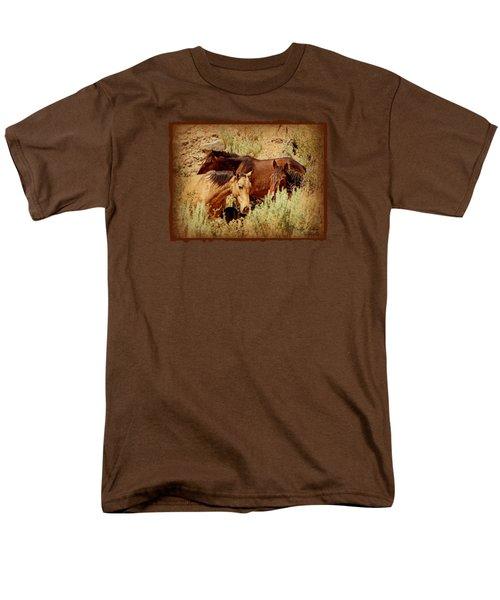 The Wild Horse Threesome Men's T-Shirt  (Regular Fit)