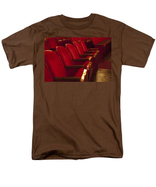 Men's T-Shirt  (Regular Fit) featuring the photograph Theater Seating by Carolyn Marshall