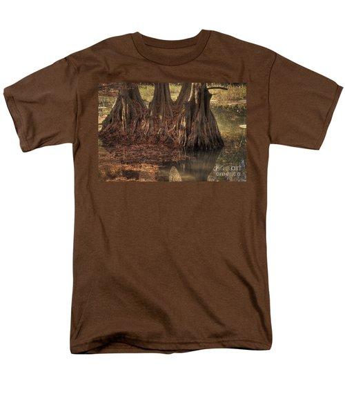 Three Trees In Lake Murray Men's T-Shirt  (Regular Fit) by Tamyra Ayles
