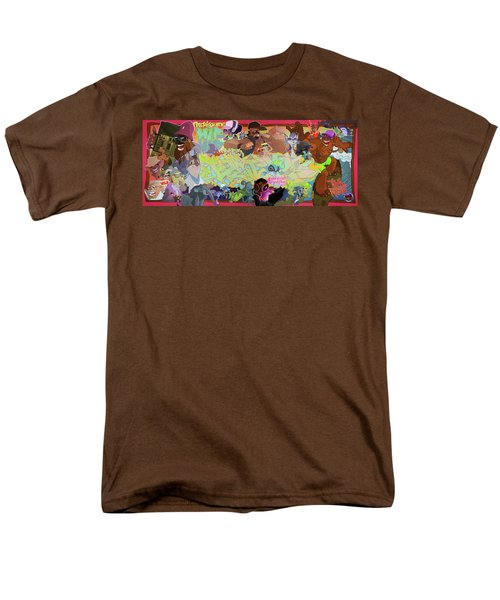 Men's T-Shirt  (Regular Fit) featuring the digital art Tidal Recall 2 by Nelson  Dedos Garcia