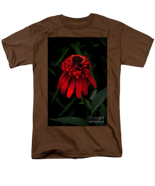 Men's T-Shirt  (Regular Fit) featuring the photograph Tiki Torch by Judy Wolinsky