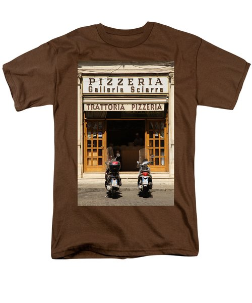 Time For Pizza Men's T-Shirt  (Regular Fit) by Ian Middleton
