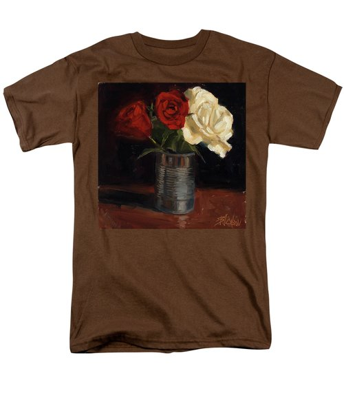 Men's T-Shirt  (Regular Fit) featuring the painting Tin Can Love by Billie Colson