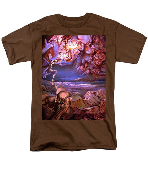 Titan In Desert Or Theft Of Intentions Men's T-Shirt  (Regular Fit) by Mikhail Savchenko