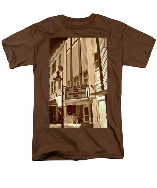 Men's T-Shirt  (Regular Fit) featuring the photograph To The Movies by Skip Willits