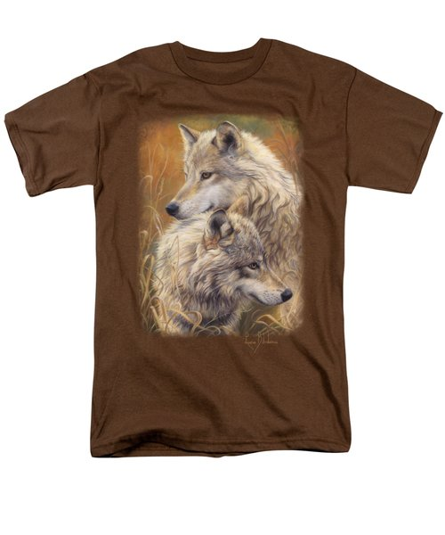 Together Men's T-Shirt  (Regular Fit) by Lucie Bilodeau