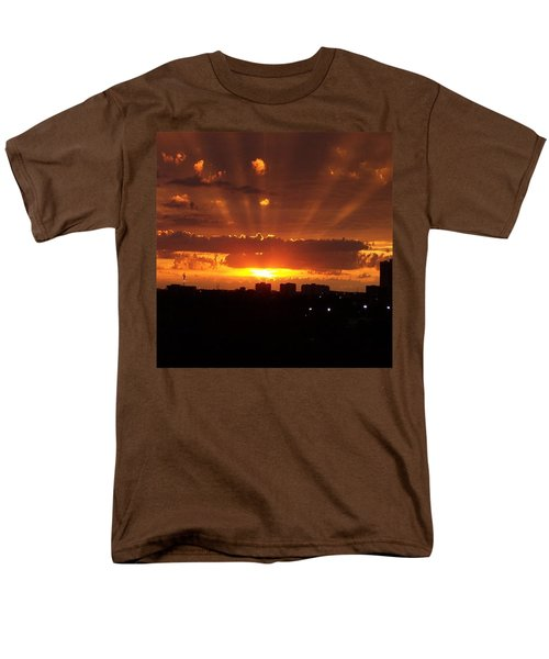 Toronto - Just One Breathtaking Sunset Men's T-Shirt  (Regular Fit) by Serge Averbukh