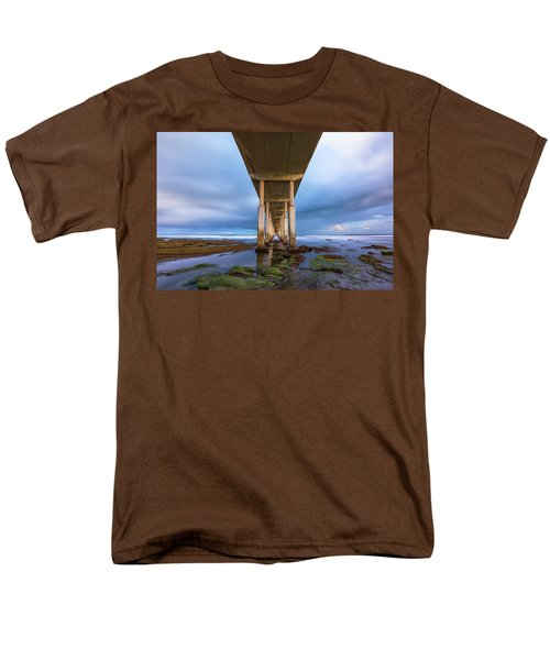 Towers Above Men's T-Shirt  (Regular Fit) by Joseph S Giacalone