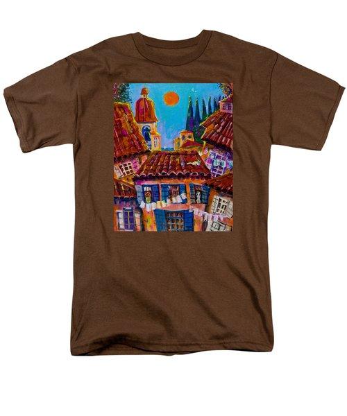 Town By The Sea Men's T-Shirt  (Regular Fit) by Maxim Komissarchik