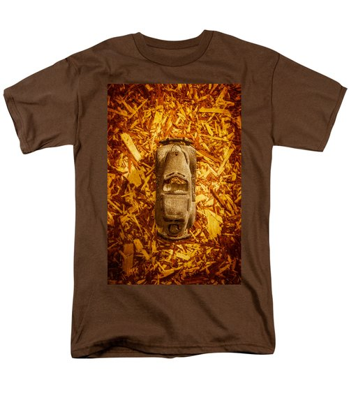 Toy Car On Wood Men's T-Shirt  (Regular Fit) by Yo Pedro