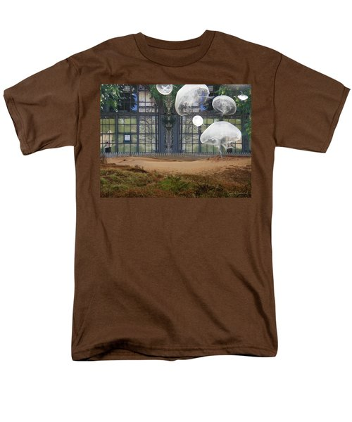 Travels With Jellyfish Men's T-Shirt  (Regular Fit) by Joan Ladendorf