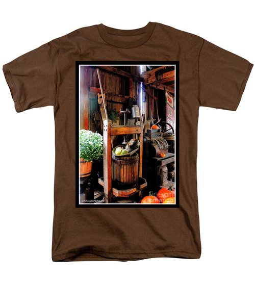 Treasures Of  Fall Men's T-Shirt  (Regular Fit) by MaryLee Parker