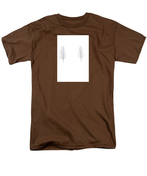 Men's T-Shirt  (Regular Fit) featuring the photograph Trees And Snow by Daniel Thompson