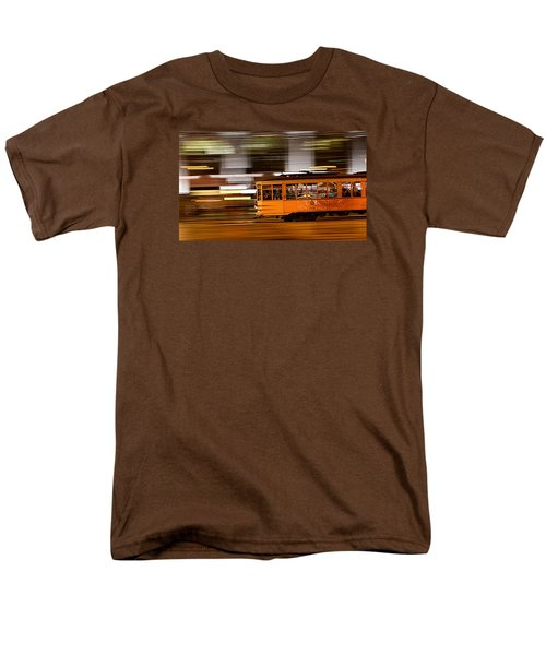 Trolley 1856 On The Move Men's T-Shirt  (Regular Fit) by Steve Siri