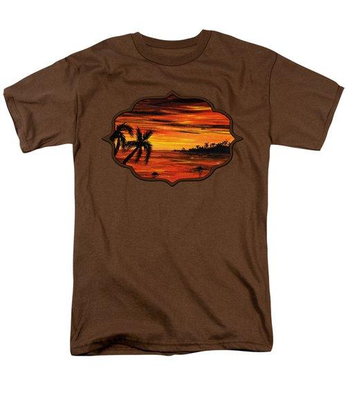 Tropical Night Men's T-Shirt  (Regular Fit)