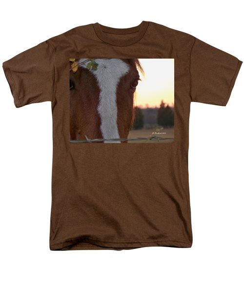 Men's T-Shirt  (Regular Fit) featuring the photograph Trusting by Betty Northcutt
