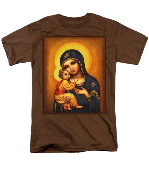 Tryptichon Madonna Men's T-Shirt  (Regular Fit) by Ananda Vdovic