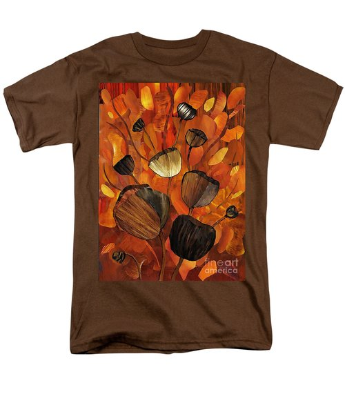 Tulips And Violins Men's T-Shirt  (Regular Fit) by Sarah Loft