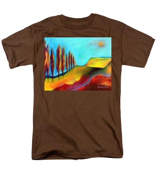 Tuscan Sentinels Men's T-Shirt  (Regular Fit) by Elizabeth Fontaine-Barr