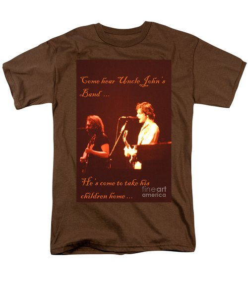 Men's T-Shirt  (Regular Fit) featuring the photograph Come Hear Uncle John's Band by Susan Carella