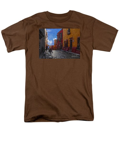 Under A Van Gogh Sky Men's T-Shirt  (Regular Fit) by John Kolenberg