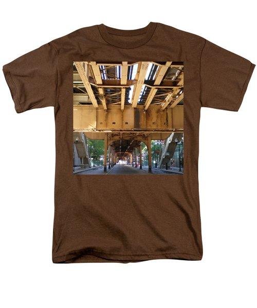 Under The El - 1 Men's T-Shirt  (Regular Fit) by Ely Arsha