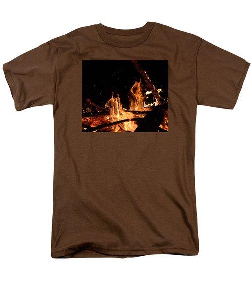 Under The Sparks Men's T-Shirt  (Regular Fit) by Janet Rockburn