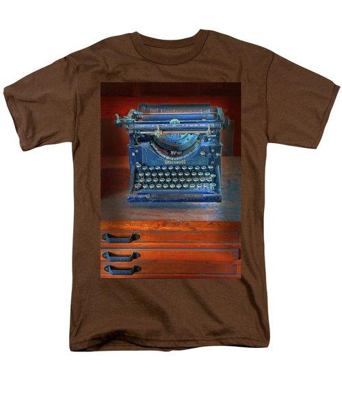 Underwood Typewriter Men's T-Shirt  (Regular Fit) by Dave Mills