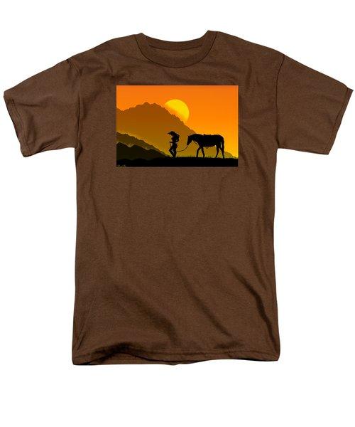 Men's T-Shirt  (Regular Fit) featuring the digital art Unforgiven by Bernd Hau