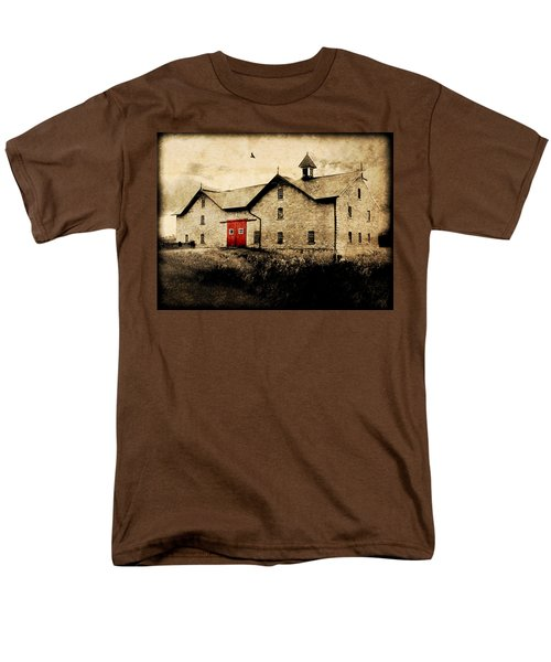 Uni Barn Men's T-Shirt  (Regular Fit)