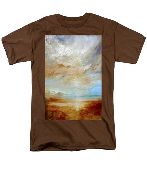 Men's T-Shirt  (Regular Fit) featuring the painting Upwardly Mobile by Dina Dargo
