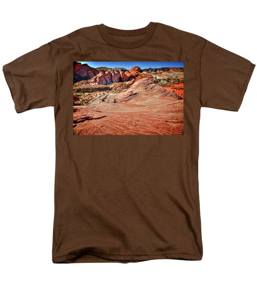 Valley Of Fire State Park Nevada Men's T-Shirt  (Regular Fit) by James Hammond