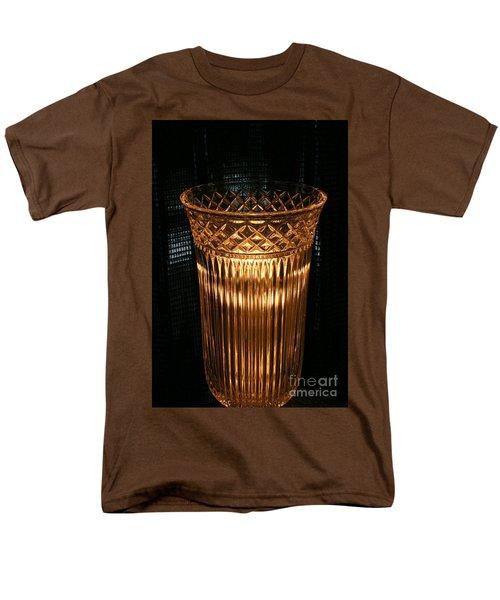 Vase In Amber Light Men's T-Shirt  (Regular Fit) by Marie Neder