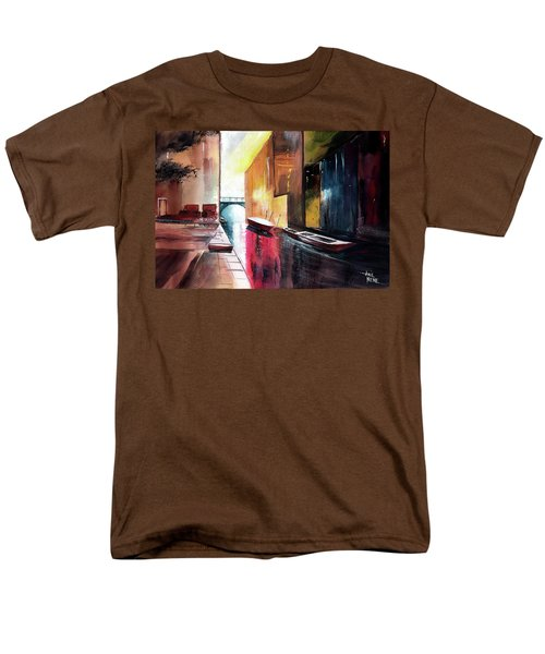 Men's T-Shirt  (Regular Fit) featuring the painting Venice 1 by Anil Nene