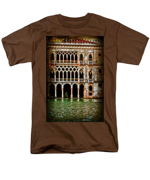 Men's T-Shirt  (Regular Fit) featuring the photograph Venice Palace  by Harry Spitz