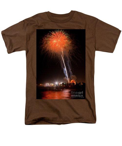 Ventura California Fair Fireworks Men's T-Shirt  (Regular Fit) by John A Rodriguez