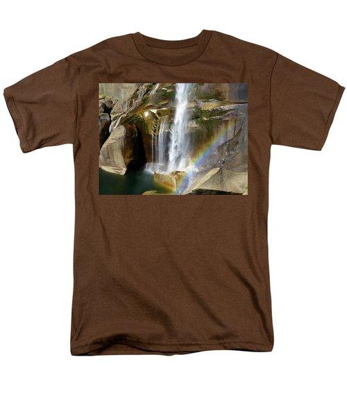 Vernal Falls Mist Trail Men's T-Shirt  (Regular Fit) by Amelia Racca