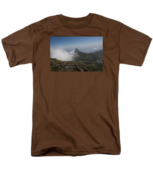 View From Table Mountain Men's T-Shirt  (Regular Fit) by Bev Conover