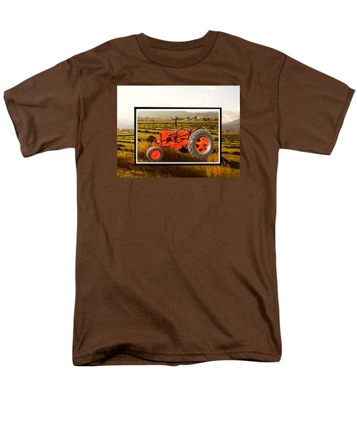 Men's T-Shirt  (Regular Fit) featuring the photograph Vintage 1948 Case Dc Tractor by Deborah Moen