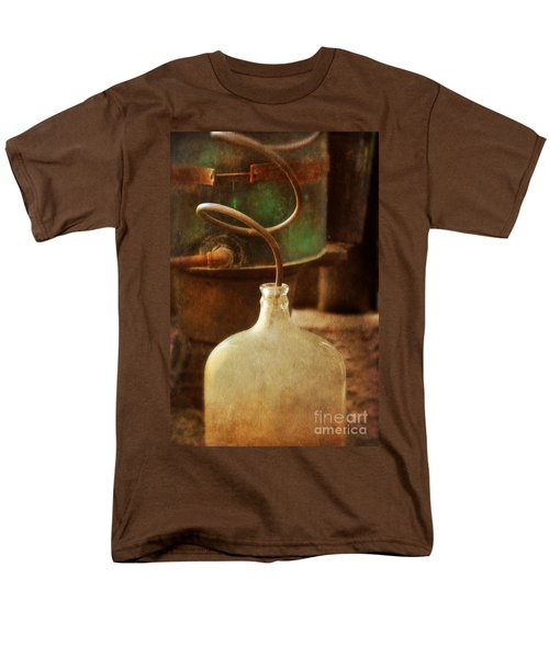 Vintage Moonshine Still Men's T-Shirt  (Regular Fit) by Jill Battaglia