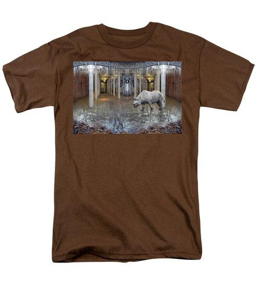 Visiting Men's T-Shirt  (Regular Fit) by Joan Ladendorf