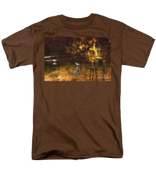Wading In Light Men's T-Shirt  (Regular Fit) by Steve Warnstaff