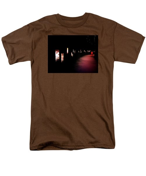 Men's T-Shirt  (Regular Fit) featuring the photograph Walking Among The Stories by Zinvolle Art