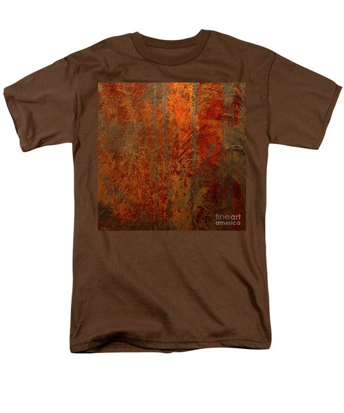 Men's T-Shirt  (Regular Fit) featuring the mixed media Wander by Michael Rock