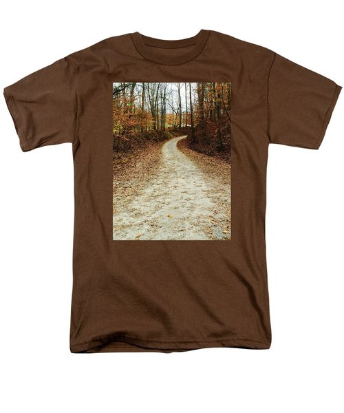 Wandering Road Men's T-Shirt  (Regular Fit) by Russell Keating